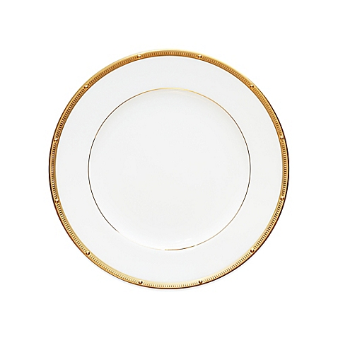 $25.00 Rochelle gold salad plate
