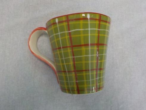 Tartan Christmas mug