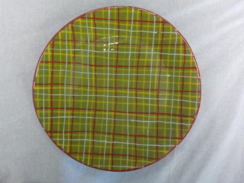 Tartan Christmas dinner plate collection with 1 products