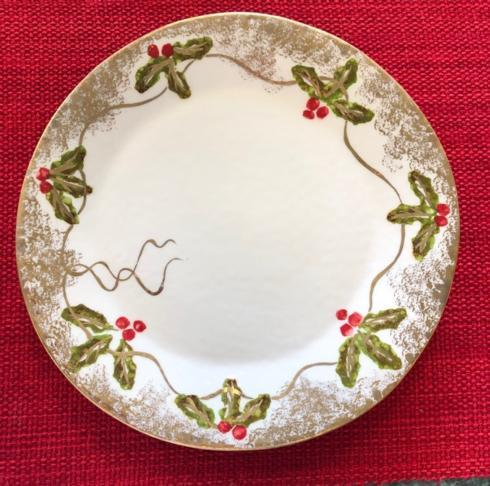 Christmas Gold dinner plate collection with 1 products