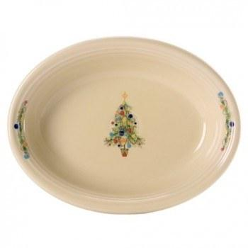 $60.00 Fiesta Christmas oval serving bowl