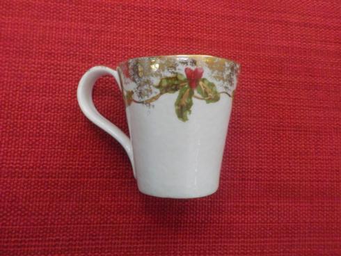 CAA Ceramics   Christmas Gold mug $50.00