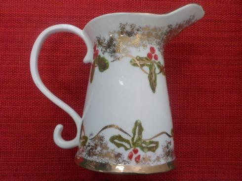 $158.00 Christmas Gold pitcher