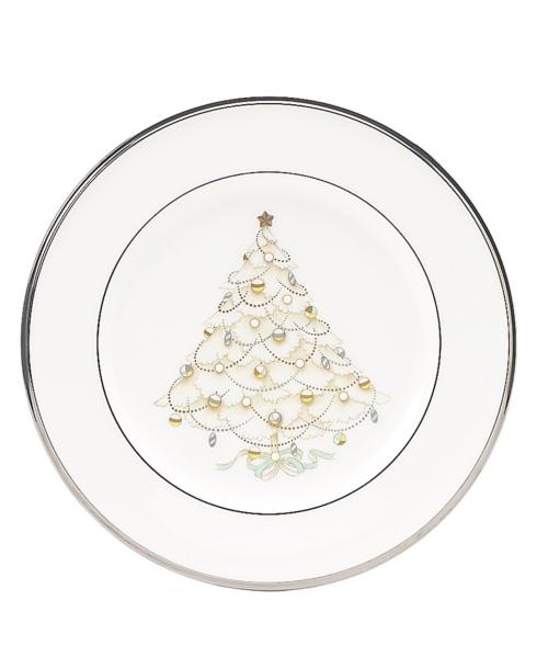 $32.00 Palace Christmas Platinum salad plate