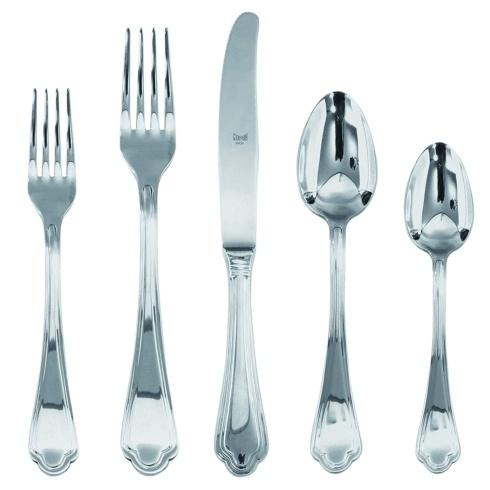 Leonardo flatware 5 piece place setting monogrammed collection with 2 products
