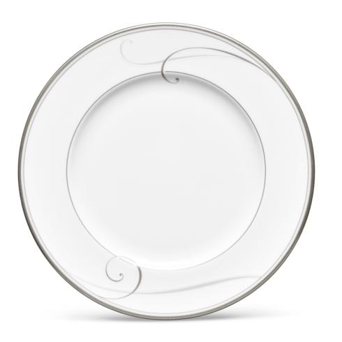 $25.00 Platinum Wave salad plate