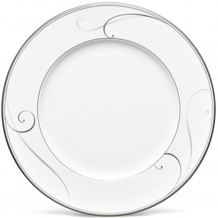 $40.00 Platinum Wave dinner plate