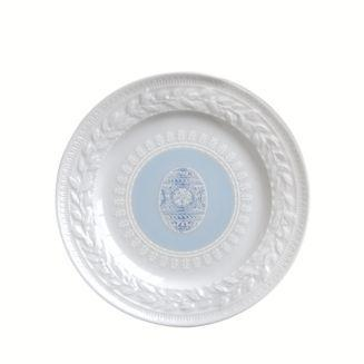 $38.00 Louvre Blue Egg salad plate