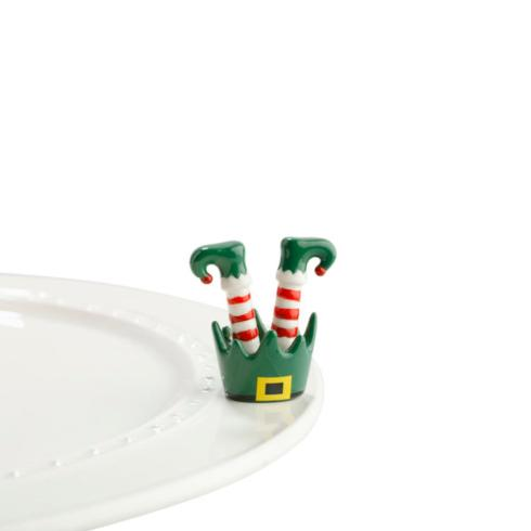 Nora Fleming  Minis elf feet $14.00