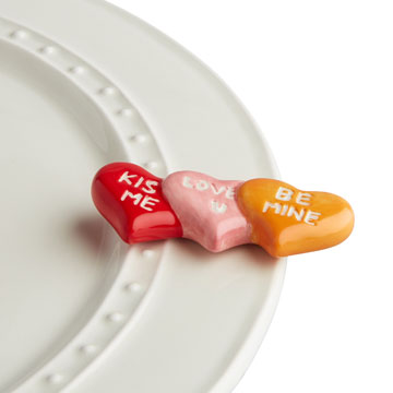 Nora Fleming  Minis Conversation Hearts  $14.00
