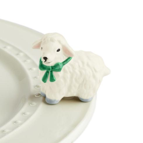 Nora Fleming  Minis white lamb $14.00