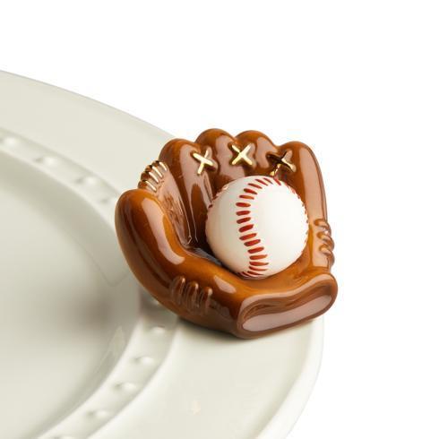 Nora Fleming   Baseball & mitt $14.00