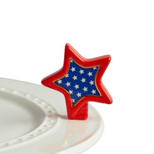Nora Fleming  Minis patriotic star $14.00