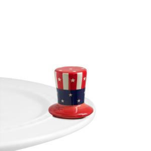 Nora Fleming  Minis Uncle Sam Hat $14.00