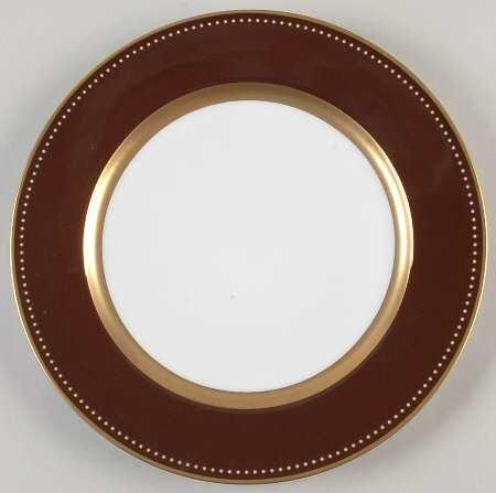 $88.00 Carolina Chocolate dinner plate