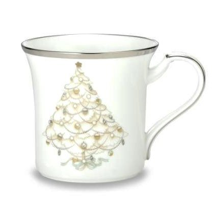 $32.00 Palace Christmas Platinum mug