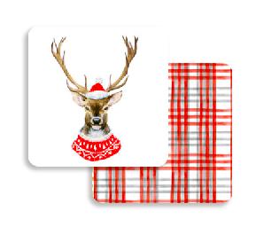 $26.00 Christmas Deer Coasters