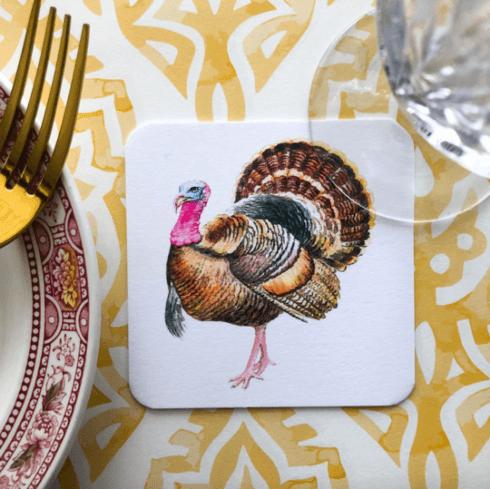 $26.00 Turkey Coasters