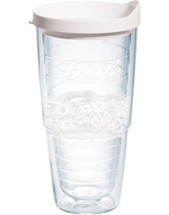 $20.00 Bride Lace 24 oz Tumbler