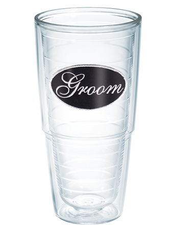 Groom 24 oz Tumbler (w/ lid) collection with 1 products
