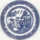 $20.00 Willow Blue dinner plate