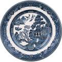 $13.00 Willow Blue salad plate