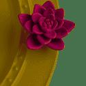 Nora Fleming  Minis Purple Flower $14.00