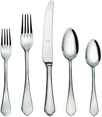 Dolce Vita flatware 5 piece place setting monogrammed collection with 1 products