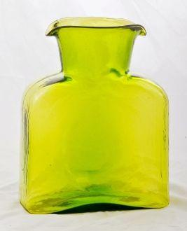 $53.00 Blenko Citrine water bottle
