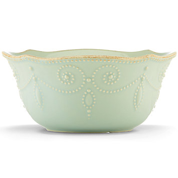 French Perle Ice Blue cereal bowl collection with 1 products