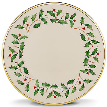 Holiday dinner plate collection with 1 products