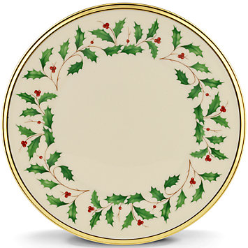 Holiday salad plate collection with 1 products