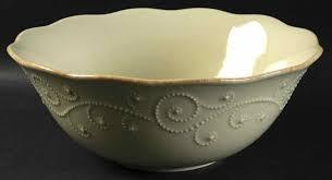 French Perle Pistachio Serving Bowl collection with 1 products