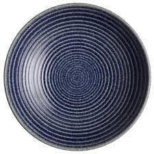 $58.00 Studio Blue lg ridged veg bowl