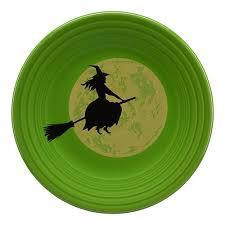 $27.00 Halloween plate - witch