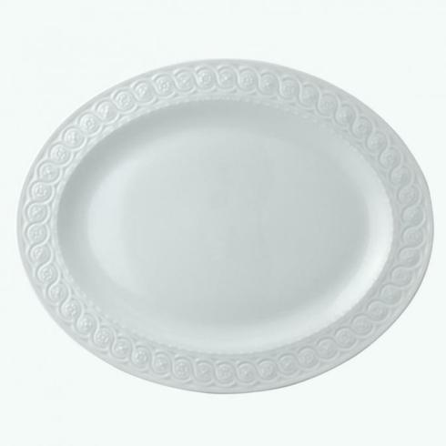"$219.00 Louvre 15"" oval platter"