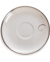 $18.00 Platinum Wave saucer