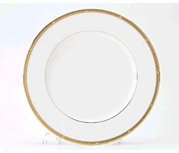$40.00 Rochelle Gold dinner plate