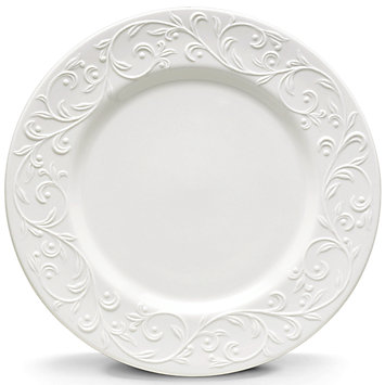 Opal Innocence Carved dinner plate collection with 1 products