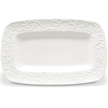 Opal Innocence Carved Hor D'Oeuvre Tray collection with 1 products