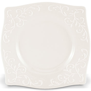 Opal Innocence Carved square accent plate collection with 1 products