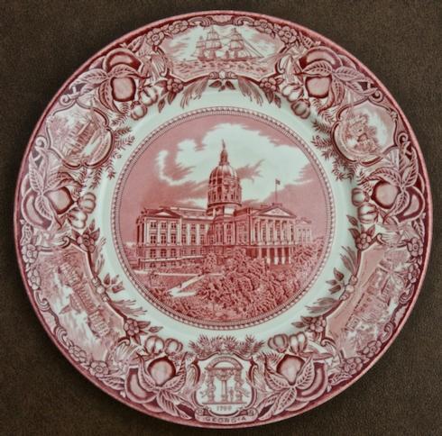 Georgia Historial Plates   Atlanta Capital dinner $60.00