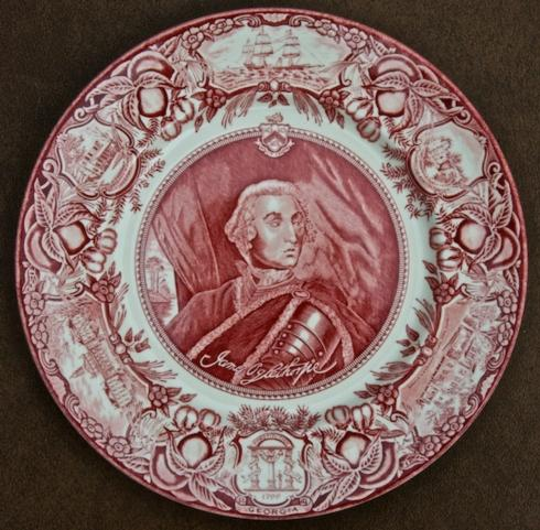 General James Oglethorpe dinner collection with 1 products