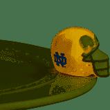$15.00 Notre Dame helmet