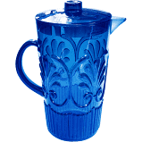 Fleur Blue Pitcher collection with 1 products