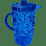 Le Cadeaux   Fleur Blue Pitcher $38.00