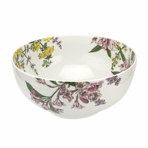 "Oneida   Spode Stafford Blooms 11"" vegetable bowl $75.00"
