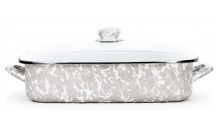 Taupe Swirl Lasagna Dish collection with 1 products