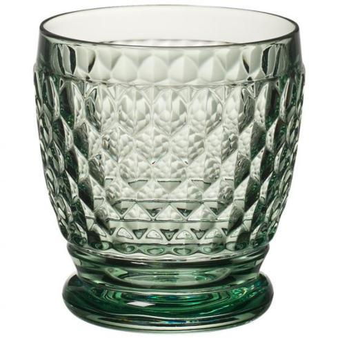 $26.00 Boston Colored Green double old fashioned