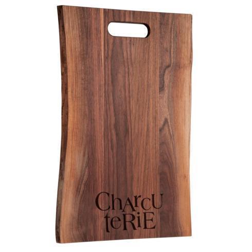 "$135.00 24"" Live Edge Black Walnut Cutting + Charcuterie Board"